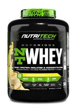 Nutritech NOTORIOUS NT Whey 3kg Banana Custard