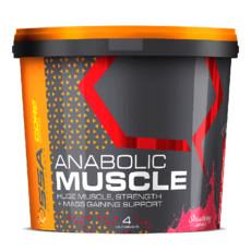 SSA Anabolic Muscle Stack - 4kg - Strawberry Sundae