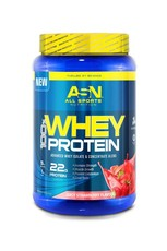 ASN 100% Whey Protein Strawberry - 908g