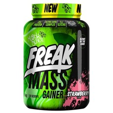 Muscle Junkie Freak Mass All-in-One Strawberry 1Kg Mass Gainer