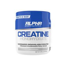 Alpha Sports Nutrition Creatine Monohydrate - Unflavoured - 250g