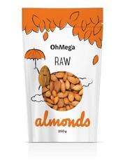 OhMega Almonds Raw 250g