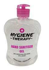 Hand Sanitiser Gel - Hygiene Therapy - 70% Alcohol Content - 500ml
