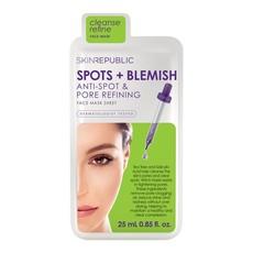 Skin Republic Spots + Blemish Face Mask Sheet - 25ml