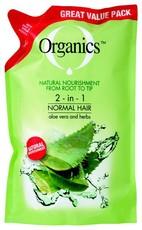 Organics Normal 2in1 Refill Shampoo 900ml