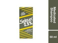Selsun 2.5 Medicated Shampoo 50ML
