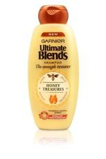 x 1 Garnier Ultimate Blends Strength Restorer Honey Treasures Shampoo - 400ml
