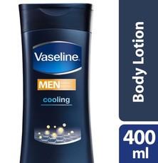 Vaseline Men Cooling Repairing Moisture Body Lotion 400ml