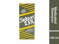 Selsun 2.5 Medicated Shampoo 100ML