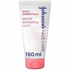 JOHNSON'S, Exfoliating Wash, Daily Essentials, Gentle, All Skin Types, 150ml