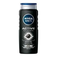 NIVEA MEN Active Clean Shower Gel/Body Wash - 500ml
