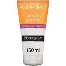 Neutrogena, Facial Scrub, Visibly Clear, Correct & Perfect, 150ml