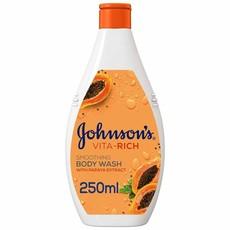 JOHNSON'S, Body Wash, Vita-Rich, Replenishing, 250ml