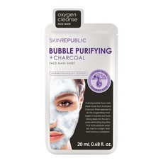Skin Republic Bubble Purifying + Charcoal Face Mask Sheet - 20ml