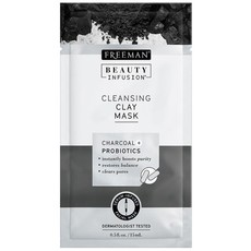 Freeman Sachet BI Cleansing Clay Mask Charcoal & Probiotics - 15ml