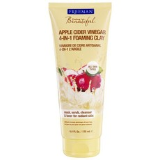 Freeman Facial Cleanser Apple Cider Vinegar 4-In-1 Foaming Clay - 175ml
