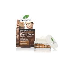 Dr.Organic Cocoa Butter Night Cream - 50ml