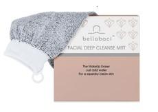 Bellabaci Grey Face Mitt - Deep Pro cleaning facial mitten