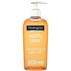 Neutrogena, Facial Wash, Visibly Clear, Spot Proofing, 200ml