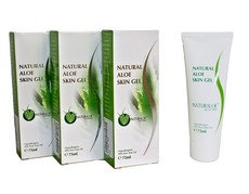 Natural Cape Aloe Ferox 99.9% Pure Aloe Anti-septic Instant Rescue Gel 3 Piece