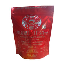 Forza No2 - 5 Types of 100% Arabica Ground Coffee in One Blend - 500g