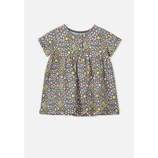 Cotton On Milly Short Sleeve Dress - Rabbit Grey Mia Floral