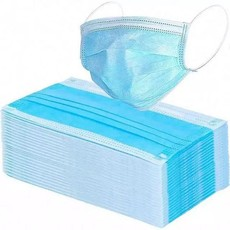 Disposable 3 Layer Ply Non Surgical Mask (1 500 Pcs)