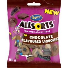 Beacon - Allsorts Chocolate Flavoured Liquorice 24x150g