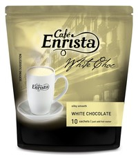 Café Enrista White Hot Chocolate 10's