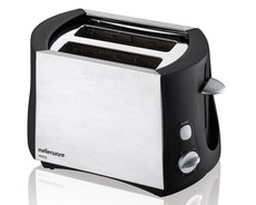 Mellerware - 2 Slice Vesta Toaster - Brushed Steel
