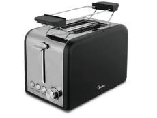 Midea 2 Slice Toaster - Black