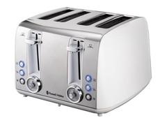 Russell Hobbs Vintage 4-Slice Toaster - Pearl White