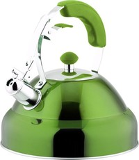 Continental Homeware Stainless Steel Induction Kettles - Green