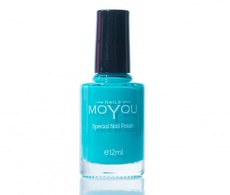 MoYou Persian Turquoise Nail Lacquer
