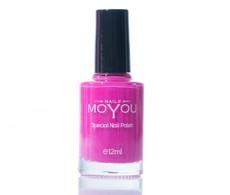 MoYou Shocking Pink Nail Lacquer