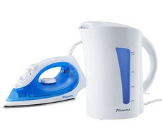 Pineware - Iron & 1.7 Litre Kettle - Set of 2