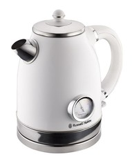 Russell Hobbs Vintage Cordless Kettle - Pearl White