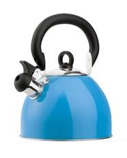 Stainless Steel Whistling Kettle 2.5Ltr. Light Blue