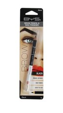 BYS Cosmetics Brow Liner & Wax Finisher Black - 1g