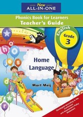 New all-in-one English phonics : Gr 3: Teacher's guide