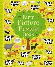 Farm Picture Puzzle Book