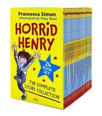 Horrid Henry Complete Story Collection 24 Bk Box-Set