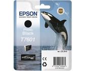 Genuine Epson T7601 Photo Black 25.9ml Ink Cartridge (C13T76014010)