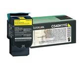Lexmark C540H1YG High Yield Return Program Yellow Laser Toner Cartridge
