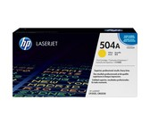 Genuine HP 504A Yellow LaserJet Toner Cartridge (CE252A)