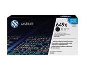Genuine HP 649X High Yield Black LaserJet Toner Cartridge (CE260X)