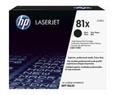 Genuine HP 81X High Yield Black LaserJet Toner Cartridge (CF281X)