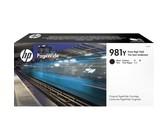 Genuine HP 981Y Extra High Yield Black PageWide Cartridge (L0R16A)