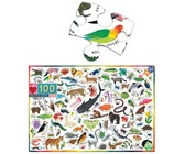 eeBoo Educational Puzzle - Beautiful World (100 Piece)