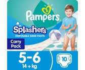 Pampers - Splashers Swimming Pants 10 Nappies - Size 5-6